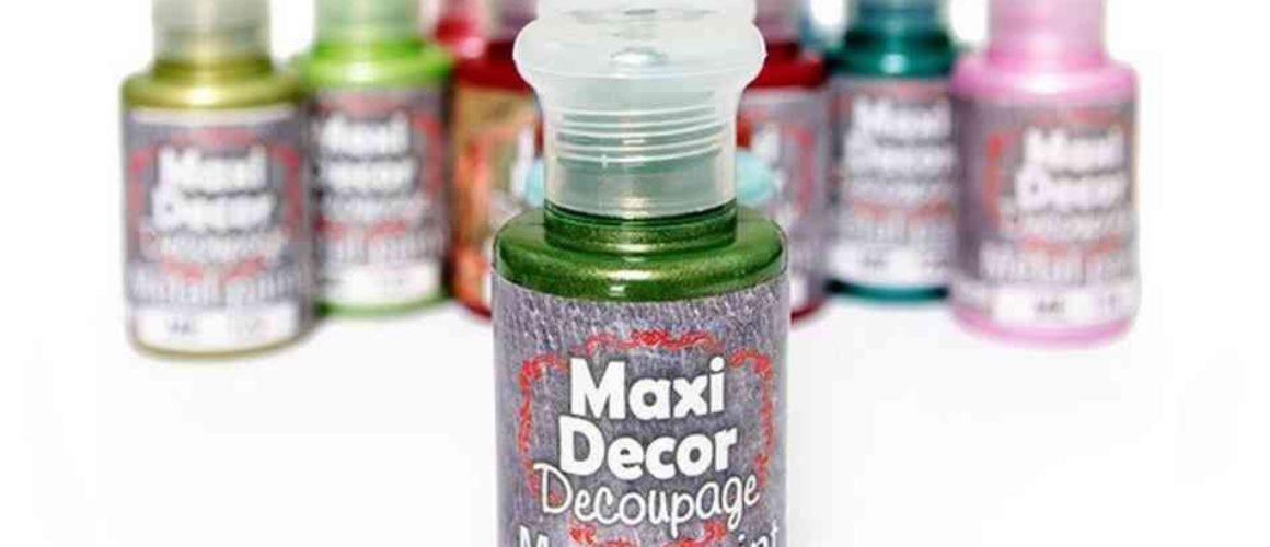 Acrilice metalice Maxi Decor 60ml-gtatarakis.com