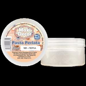 Pasta perlata 101 perla 100ml-Maxi Decor-gtatarakis.com