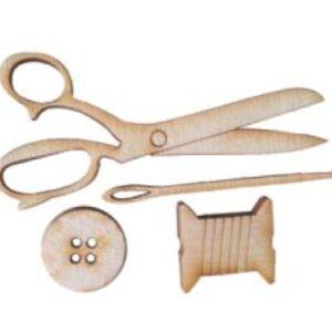Model lemn Kit de cusut BK-PS43