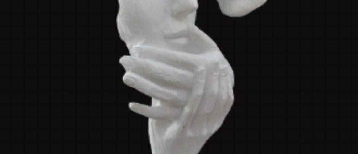 Statueta poliester-dragoste-HYK 146