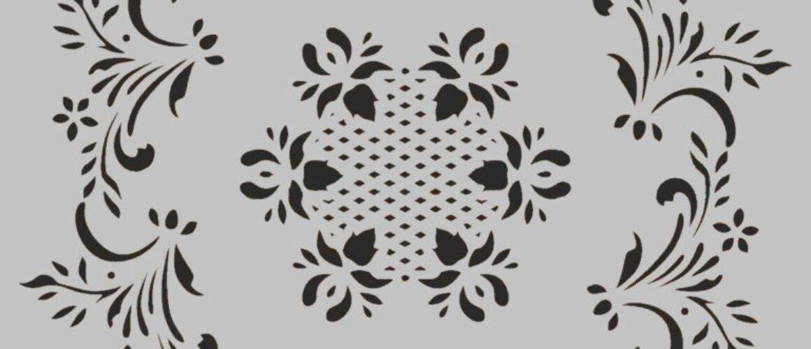 sablon -stencil-Yu045-30x30cm