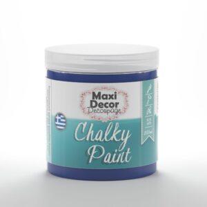 "Chalky paint ""albastru paun"" Nr 604 750ml"