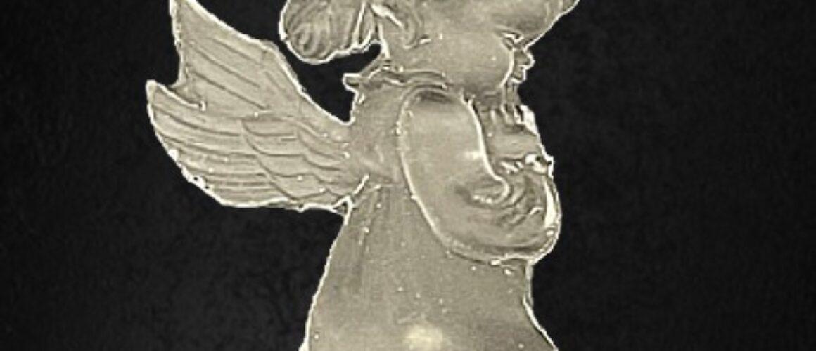 cristal flexibil-înger-cr2325-9x5cm