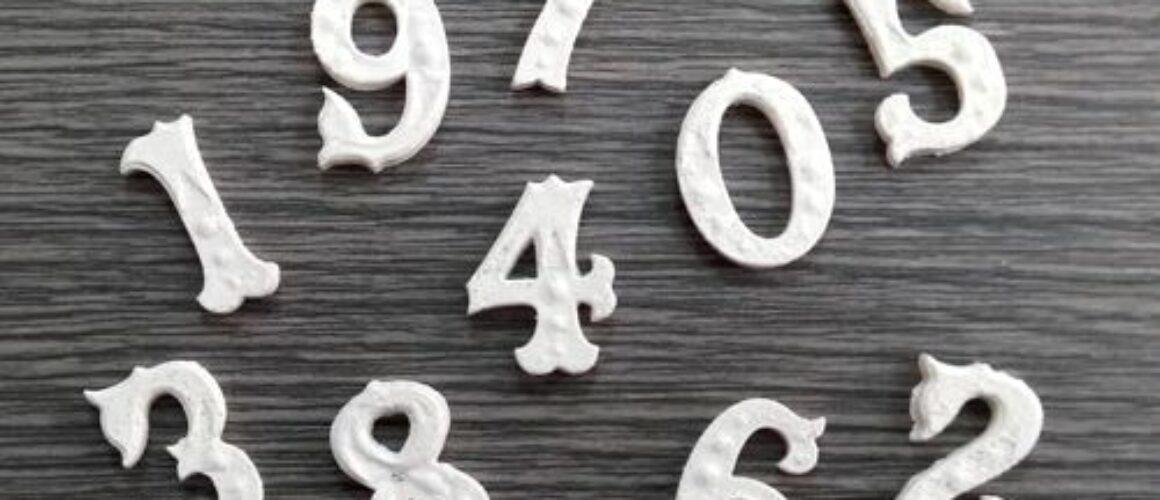 """Model elastic """"numere"""" EL305-4"""